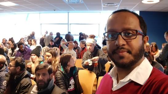 Calais refugee event