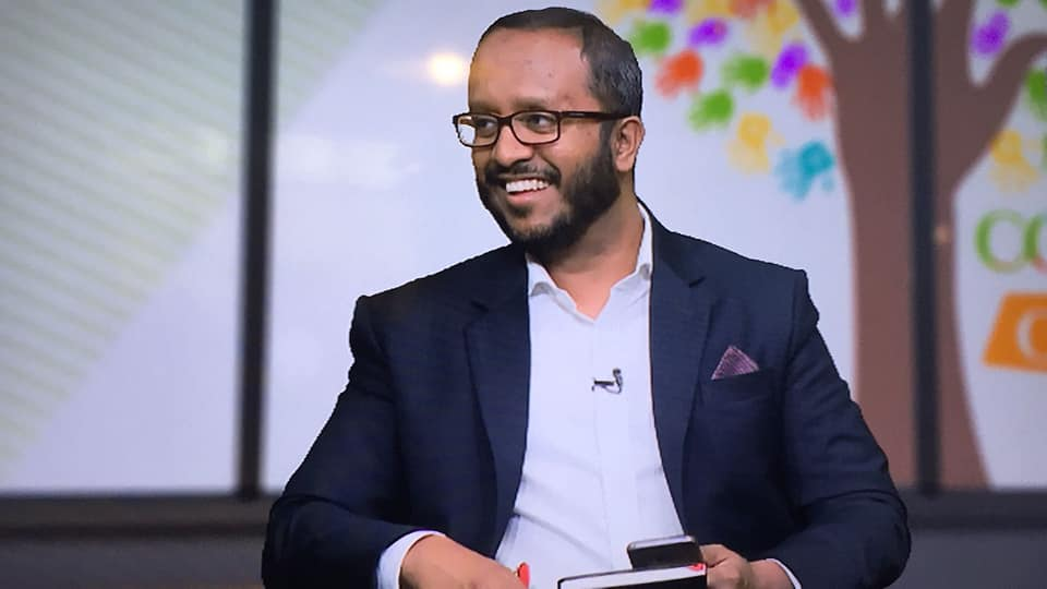 Khaled Moyeed presenter photo