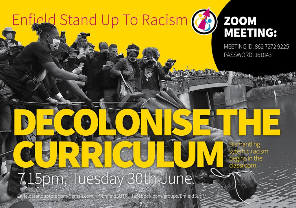 Decolonise the curriculum